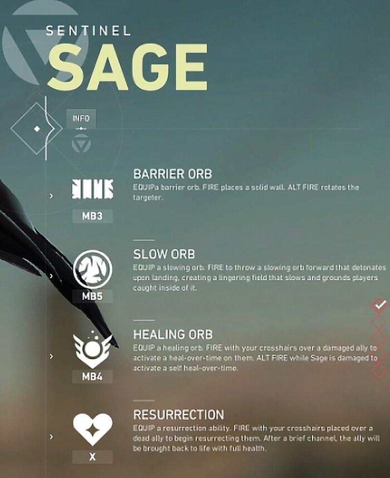 дата, Возможная дата бета-теста. Описание способностей героя Sage